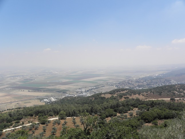 Countryside in Israel